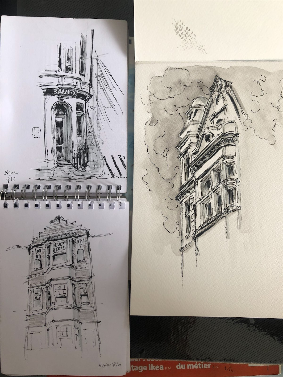 brighton sketches