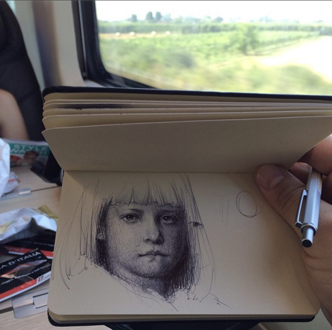 drawing people by nicolas sanchez